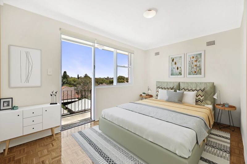 Bright And Airy Apartment On Prized Top Floor with freshly paint and new polished flooring