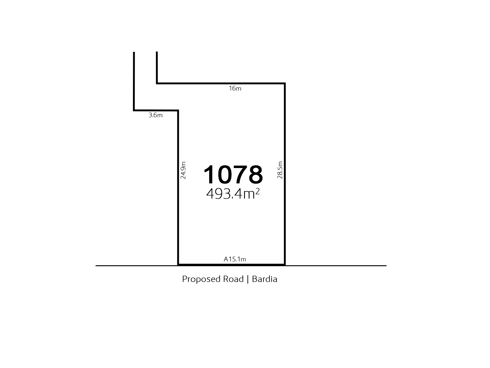 Bardia Lot 1078 Proposed Road | Bardia