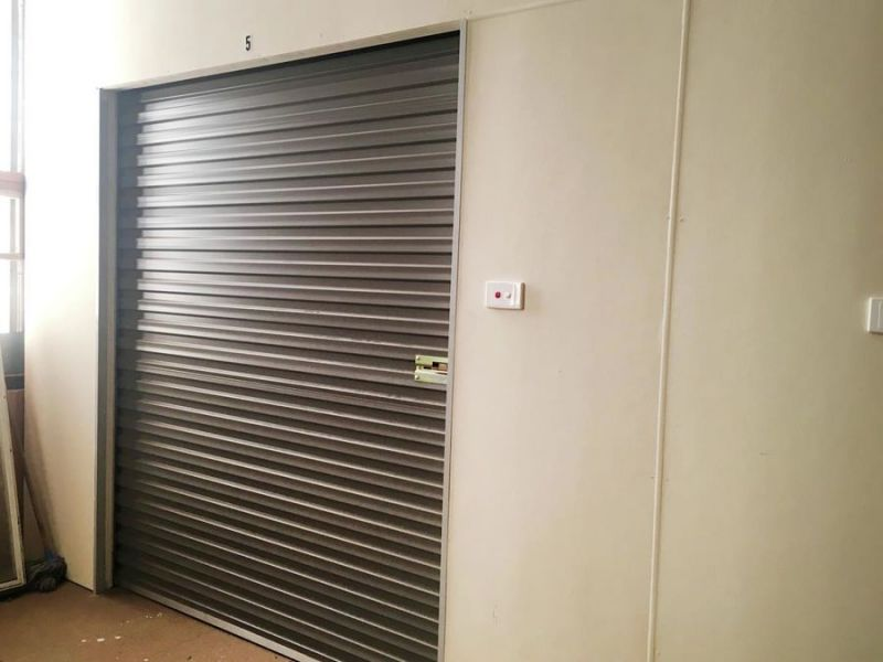 SECURE Storage in handy location...