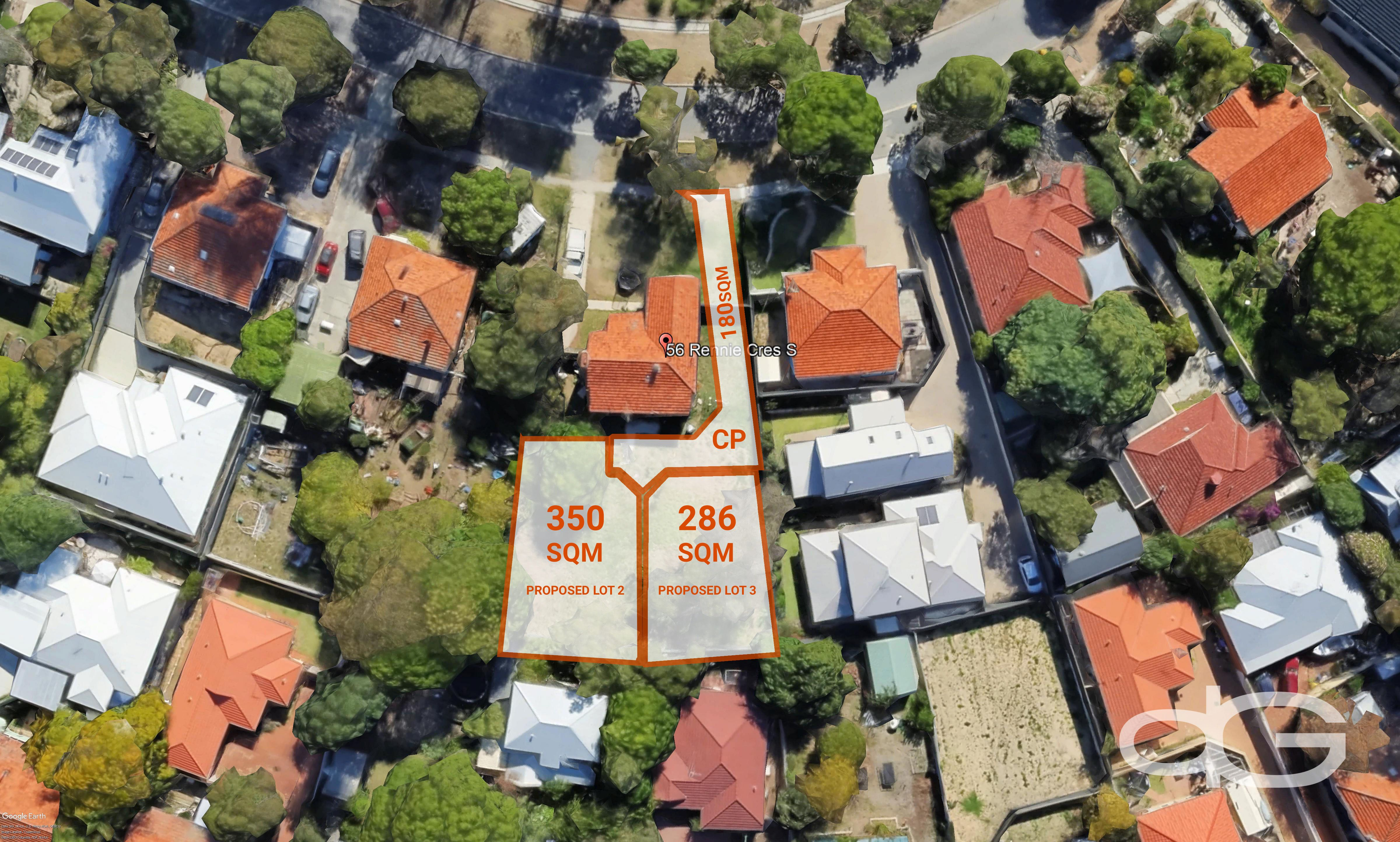 Lot 2 or 3, 56 Rennie Crescent, Hilton