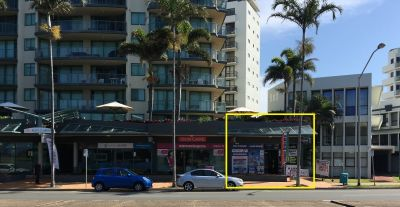 BEACHFRONT OFFICE OR RETAIL MAROOCHYDORE