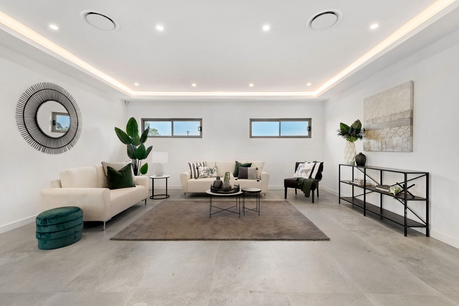 Trophy home with luxe granny flat