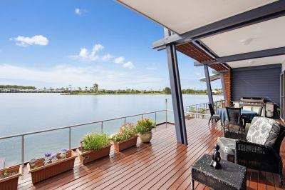 Stunning and Stylish Overlooking the Beautiful Lagoon