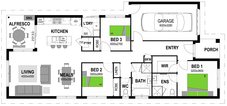 LOT 114 BAYVIEW ROAD PAKENHAM Floorplan
