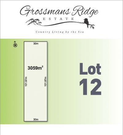 Lot 12/460 Grossmans Road, BELLBRAE