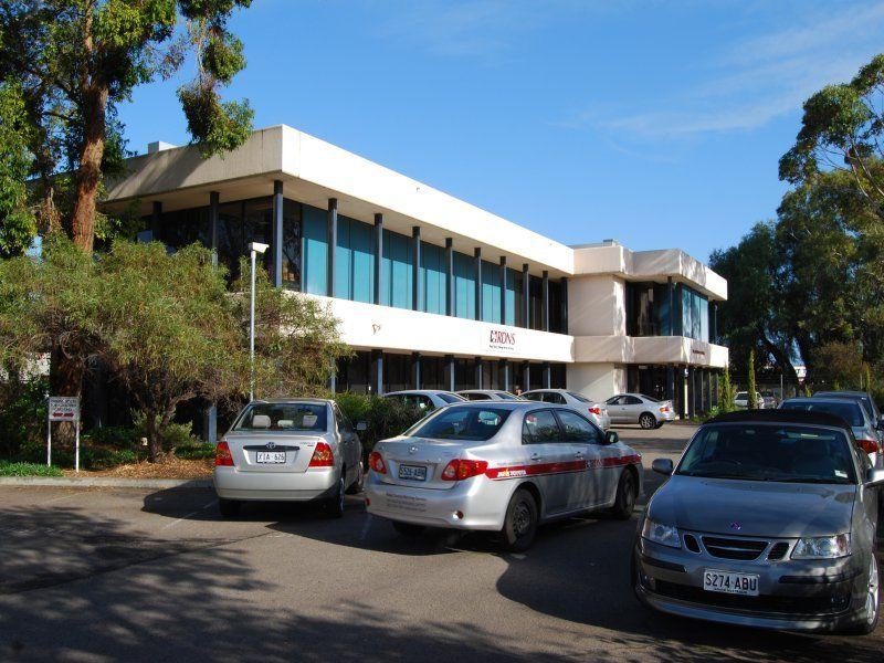 Imposing Office Building on a Huge Corner