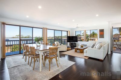 Renovated Home WithViews Of The Lake and Beach