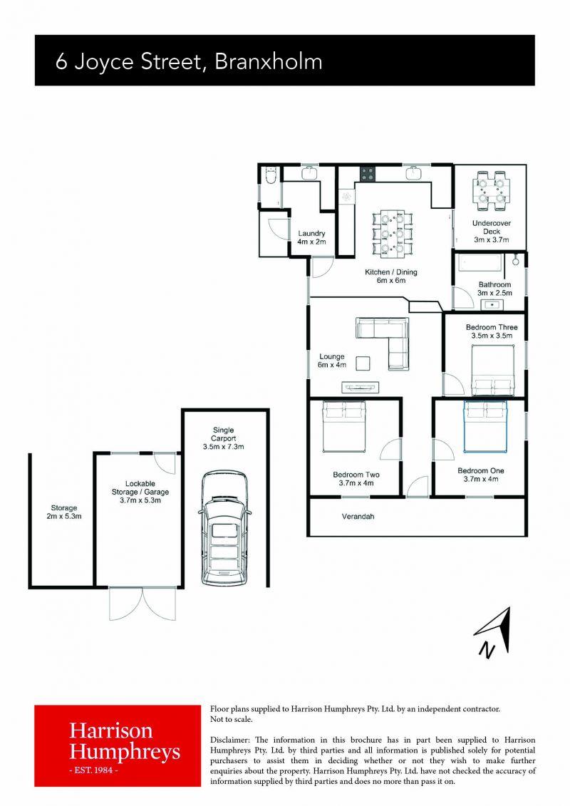 6 Joyce Street Floorplan