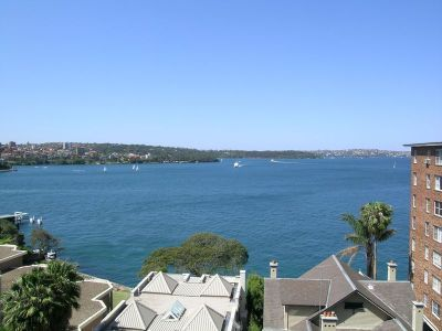 Panoramic easterly harbour views | Parking via security lift access