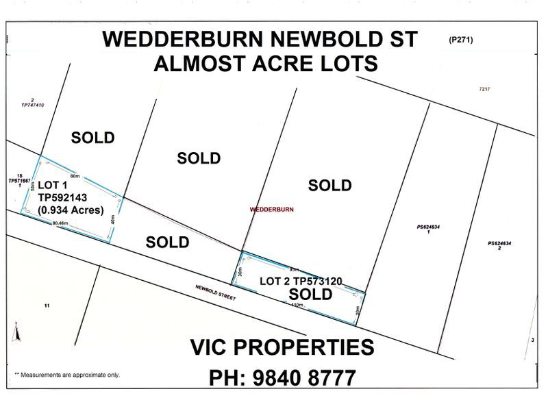 Lot 1/ Newbold Street, Wedderburn VIC 3518