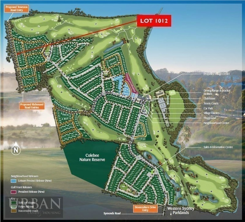 Colebee Lot 1012  Victory Road | Stonecutters Ridge