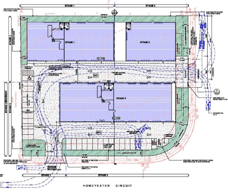 APPROVED INDUSTRIAL DEVELOPMENT SITE