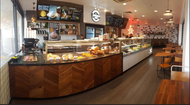 Sandwich Chefs New Store in busy shopping centre, great location and trade zone