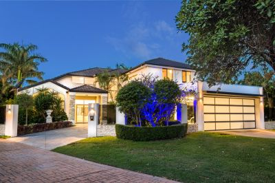 Grande Home, with 21M of North Facing Waterfront