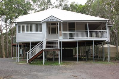 Private fully renovated original pre-war Queenslander