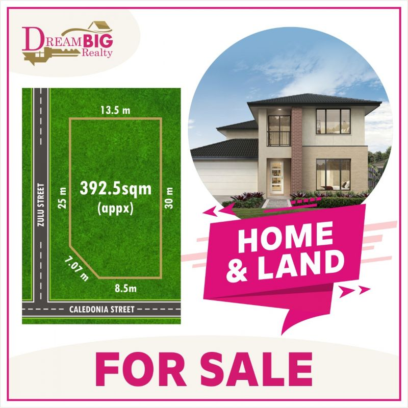BUILD YOUR DREAM HOME ON EAST FACING LAND, A MINUTE AWAY FROM PROPOSED SHOPPING TOWN AND HIGH SCHOOL !!