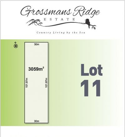 Lot 11/460 Grossmans Road, BELLBRAE