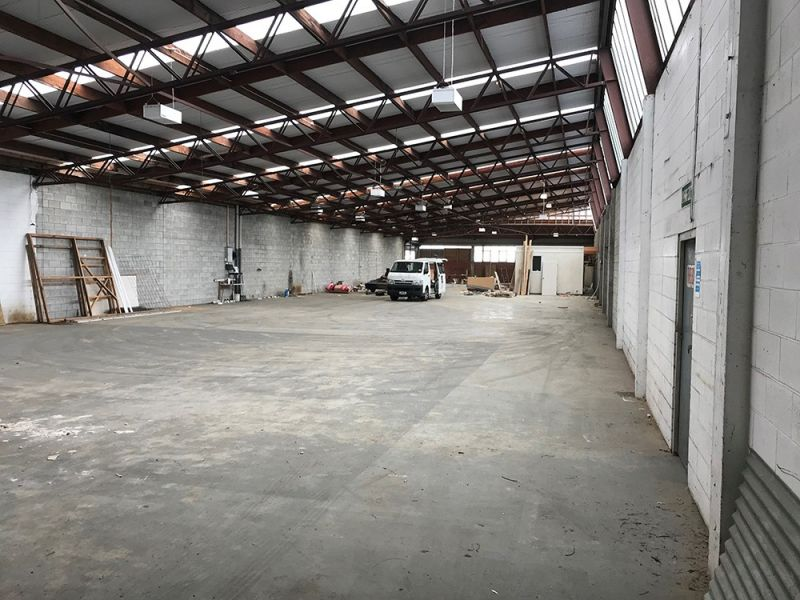 Warehouse ready to occupy!