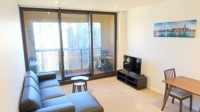 Fully Furnished One Bedroom Plus Study Apartment In The Exclusive Prima Pearl!