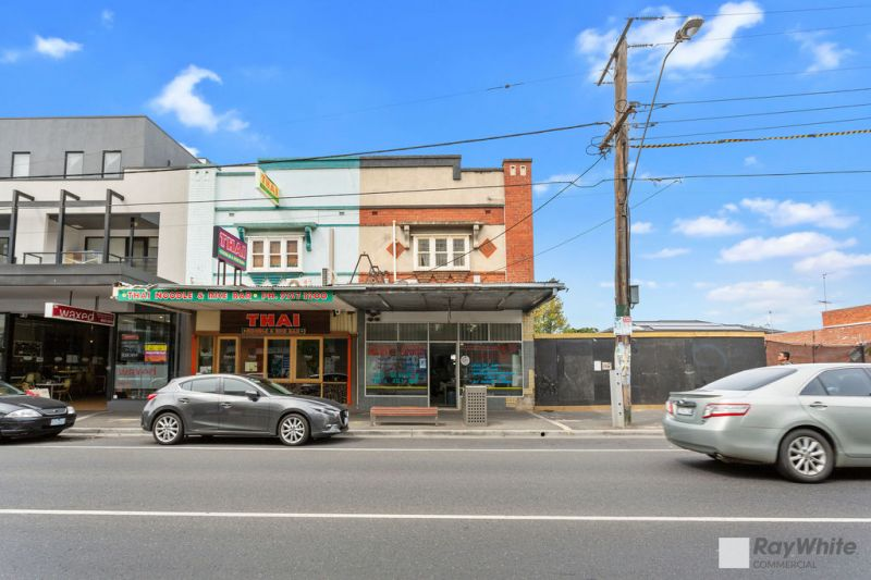 RETAIL/OFFICE PLUS REFURBISHED TWO BEDROOM RESIDENCE!