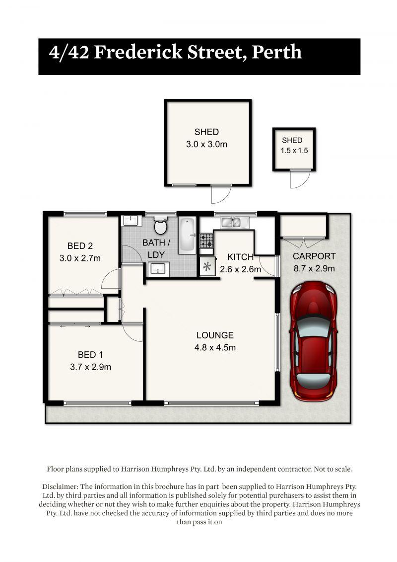 42 Frederick Street Floorplan