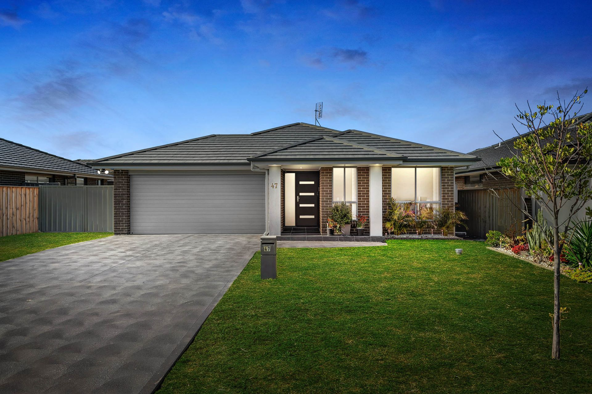 Contemporary home with a fabulous family floorplan