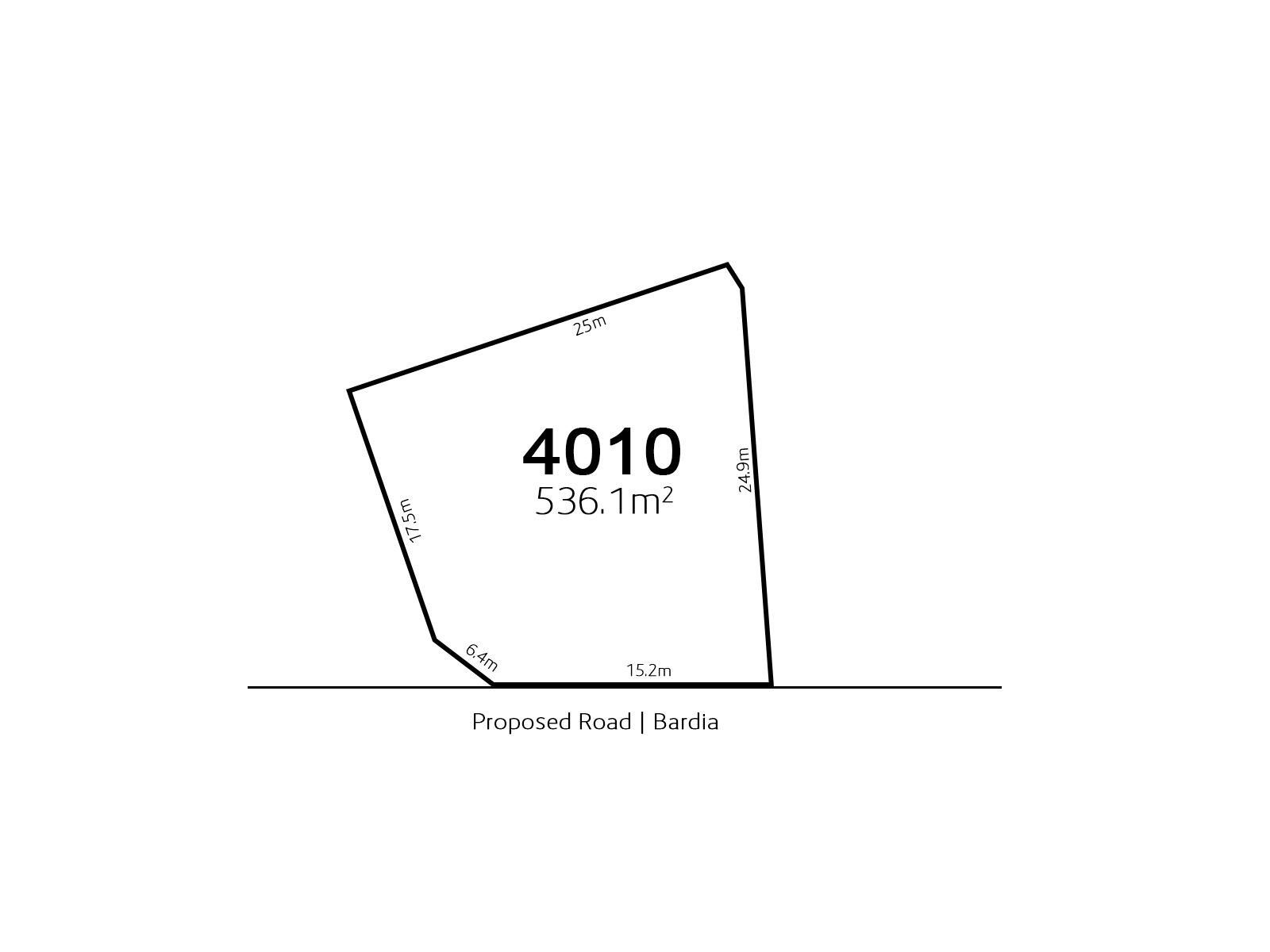 Bardia LOT 4010 Proposed Road | Bardia