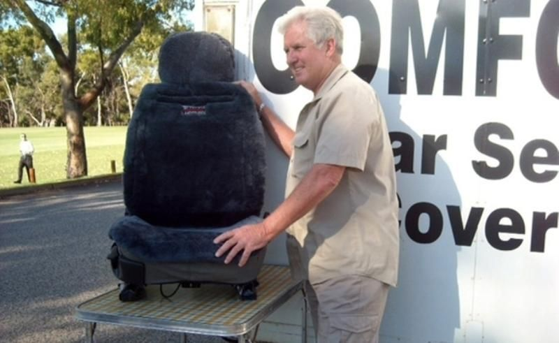"""King of the Road"" - Ugg Boot & Seat Cover Mobile Business with fitted trailer"