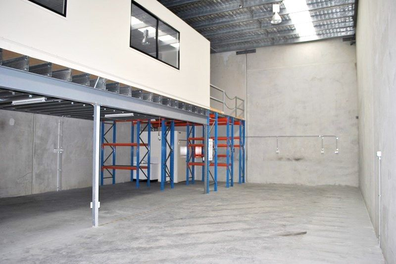 Clean Warehouse With Office