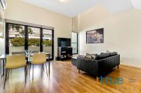 = HOLDING DEPOSIT RECEIVED = IMMACULATE AND STYLISH SPLIT LEVEL EXECUTIVE APARTMENT - FURNISHED UPON NEGOTIATION