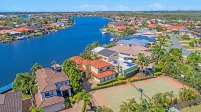 North To Water - Life Style Living with Tennis Court