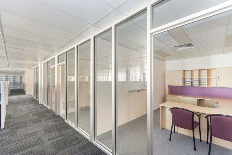 Fully fitted offices with lift access