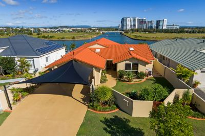 Single Level, Waterfront Luxury with Extended Canal View!