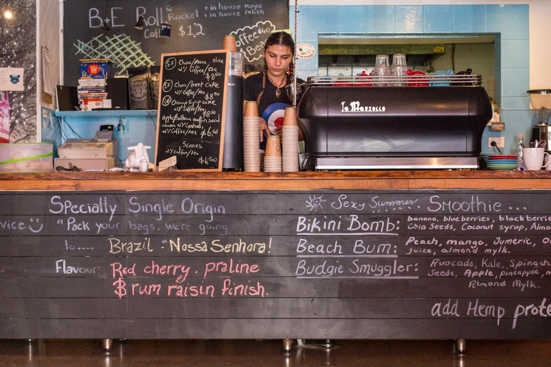Cafe Mod Barista - Licensed Cafe in the Heart of Cabarita Beach