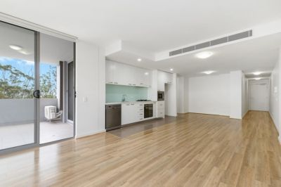 Contemporary one bedroom apartment in quiet and private setting