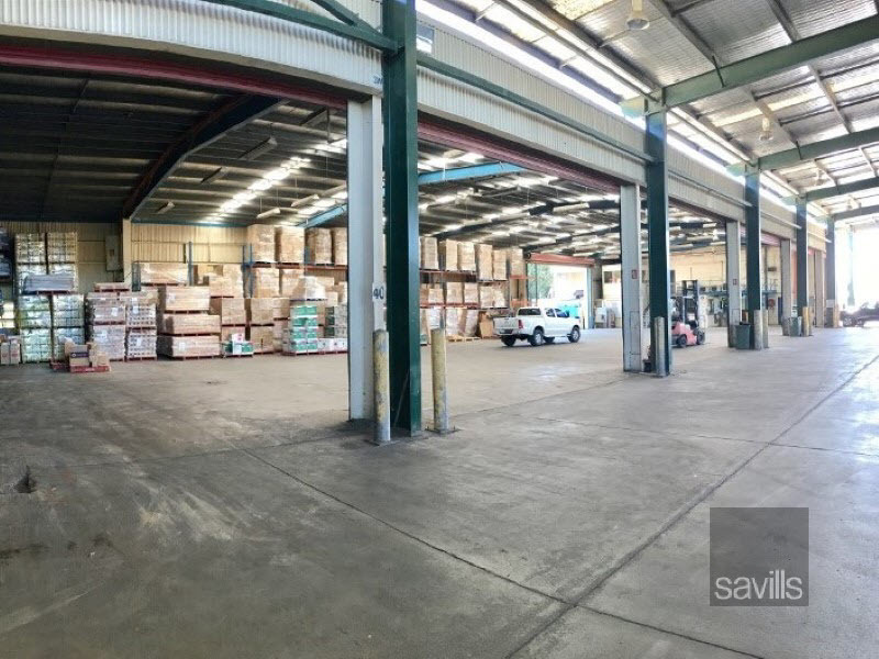 Distribution Facility with a Massive Awning