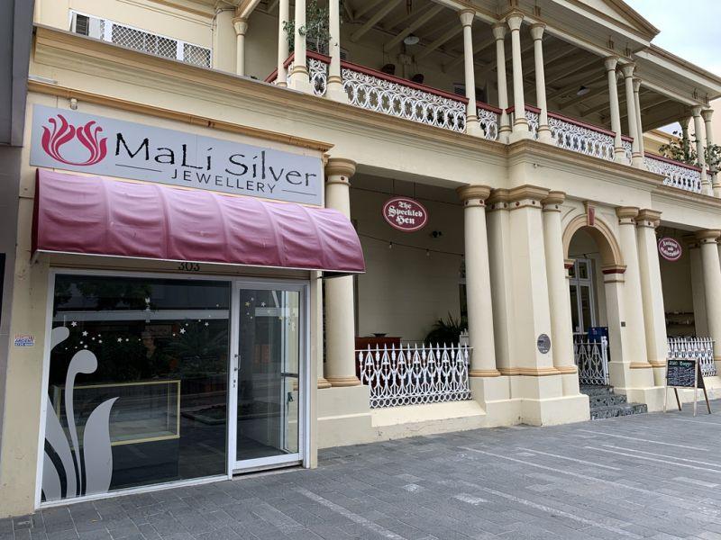 Charming Flinders Street shopfront