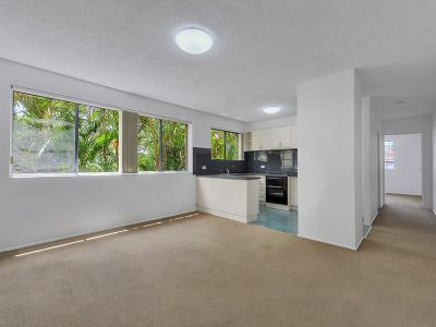 LARGE ONE BEDROOM ON QUIET, LEAFY STREET IN NEW FARM!