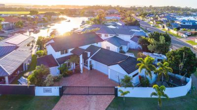 Relaxed waterfront living in this large family home