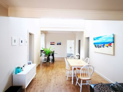 Beautiful beachside fully furnished four bedroom cottage, plenty parking space