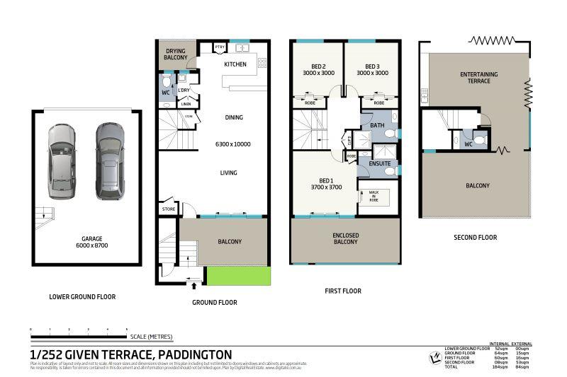 1/252 Given Terrace Paddington 4064