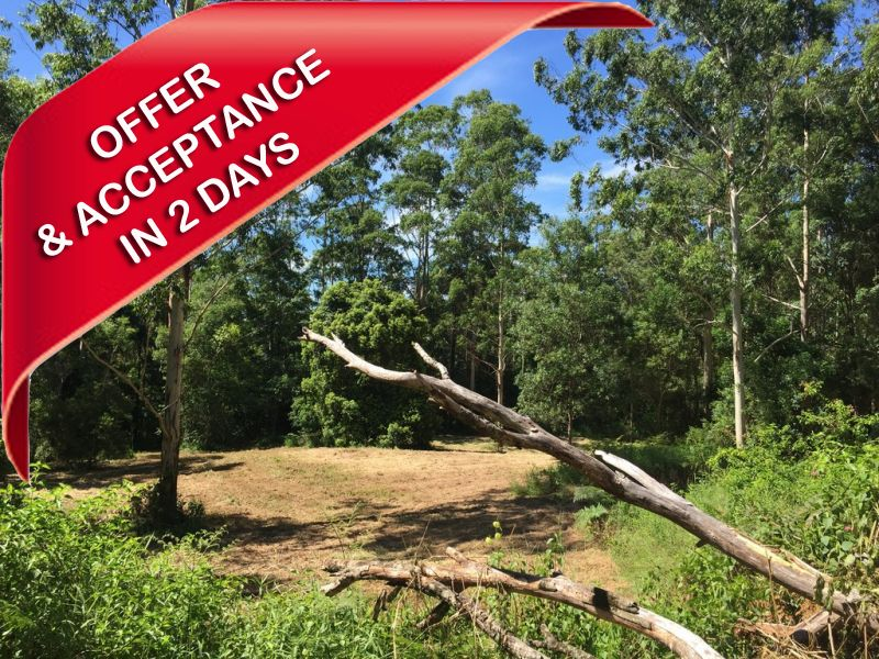 7 PRIVATE ACRES FOR $100K