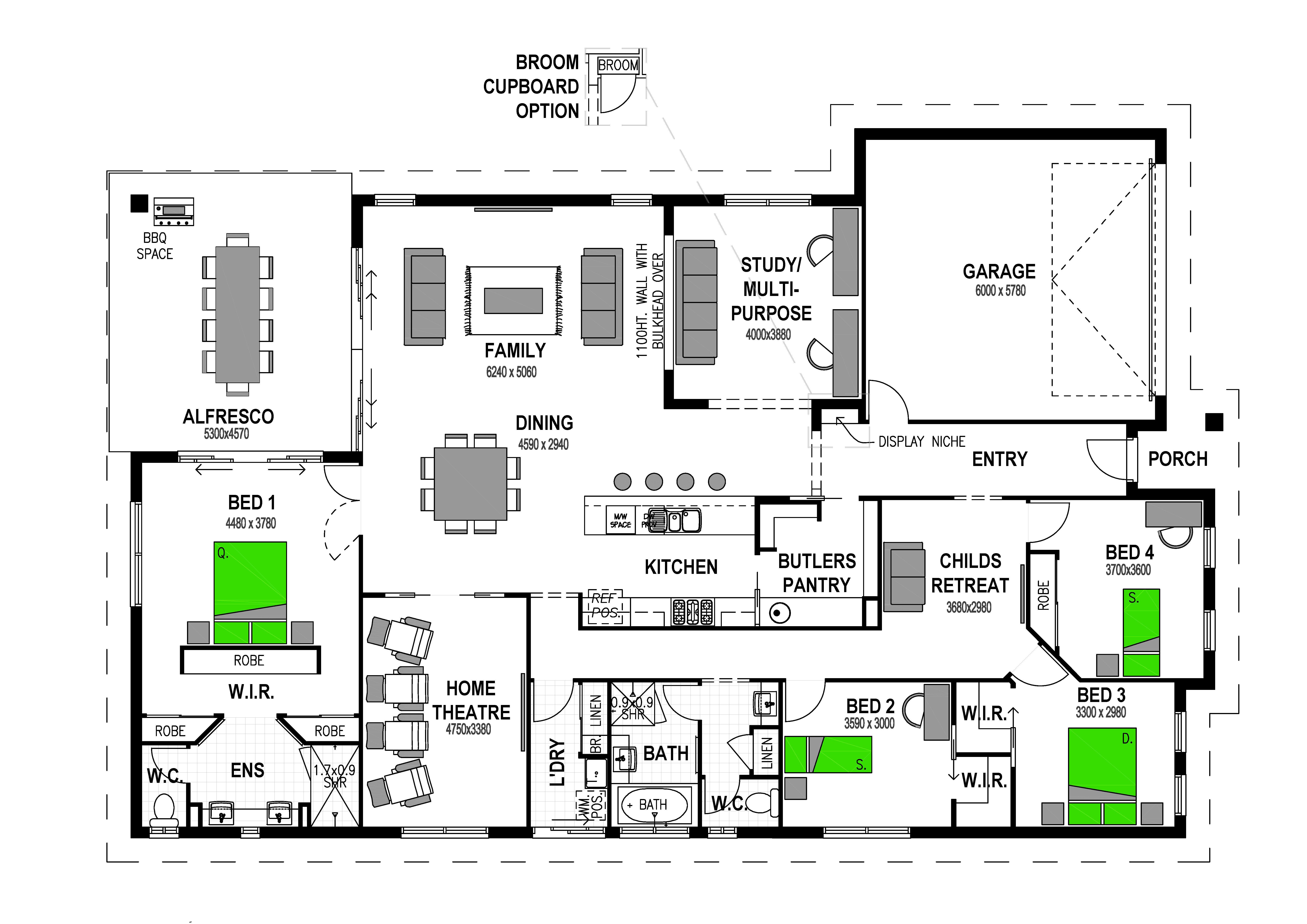 3 HAMISH ROAD DARLEY Floorplan