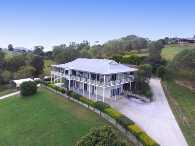 A 7 acre, dual living home with Stunning Hinterland outlook