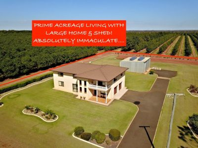 SURPRISE PACKAGE ON 1 ACRE WITH HUGE HOME & SHED! ABSOLUTELY IMMACULATE….