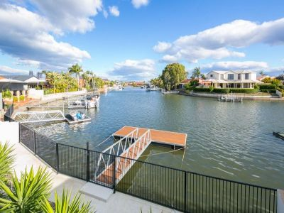 Single Level Waterfront Living - Wide Canal Views