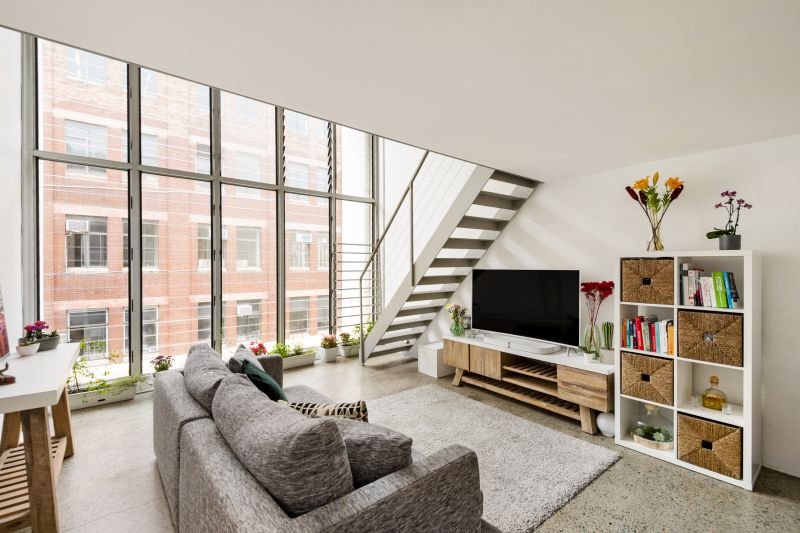 New York-Style Loft Living In Convenient Locale