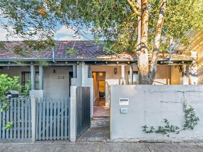 CHARMING PET FRIENDLY CHARACTER-FILLED SEMI IN DESIRABLE PARKSIDE LOCATION