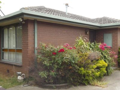 ** Recently painted two bedroom villa unit **
