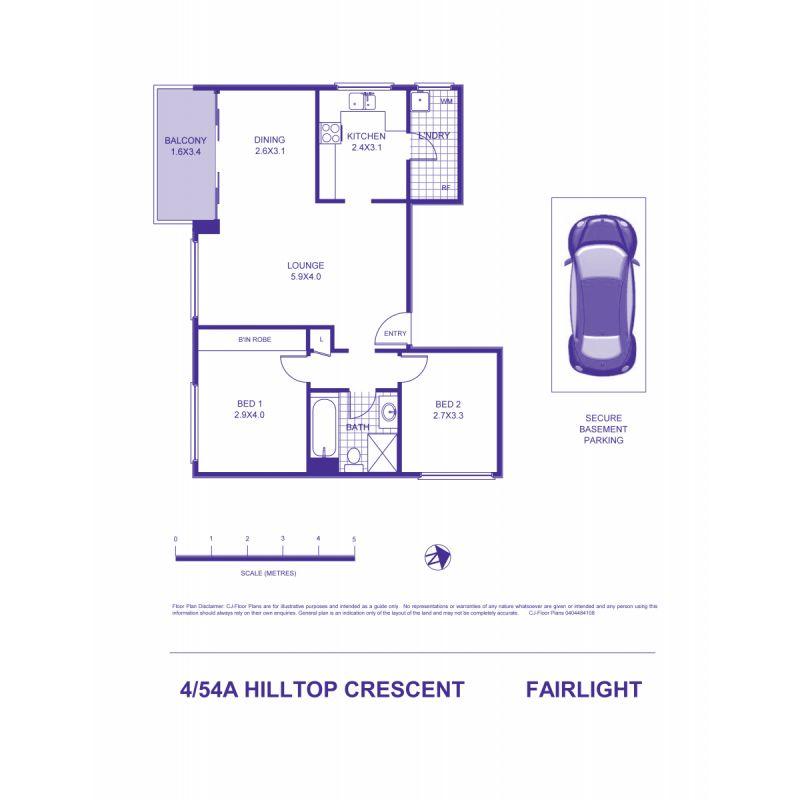 4/54A Hilltop Crescent Fairlight 2094